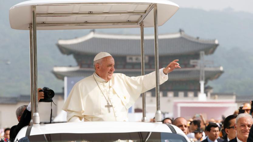 Le pape François, l'immigration et la Terre promise