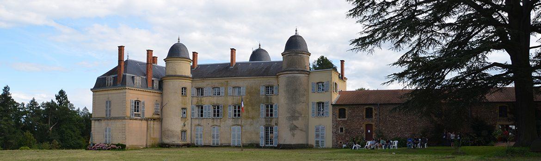 Le château d'Ailly, lieu du CMRDS Camp Maxime Real del Sarte et de l' Université d'Été de l'Action française