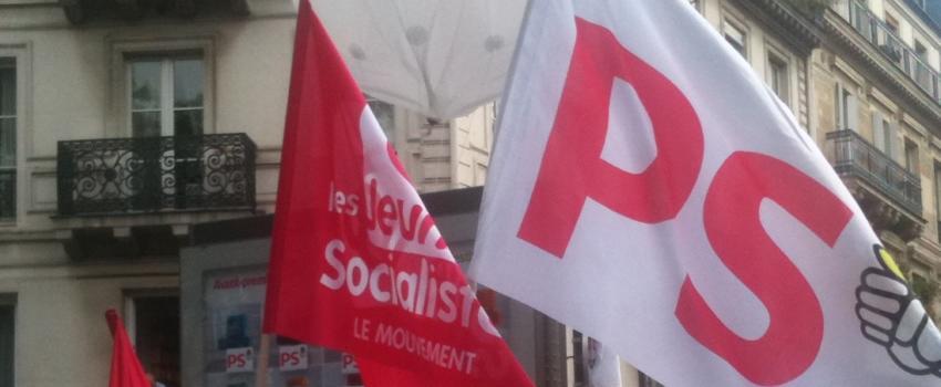 Les mauvais chiffres du Parti socialiste