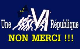 La VI ème République, ou la dernière?