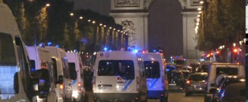 Un policier tué par un assaillant sur les Champs-Elysées àParis
