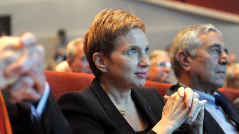 L'ex-patronne du Medef Laurence Parisot se dit «prête» pour être Première ministre d'Emmanuel Macron