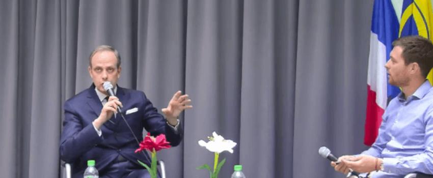 Le prince Jean de France au colloque du Cercle de Flore «Refonder le bien commun»