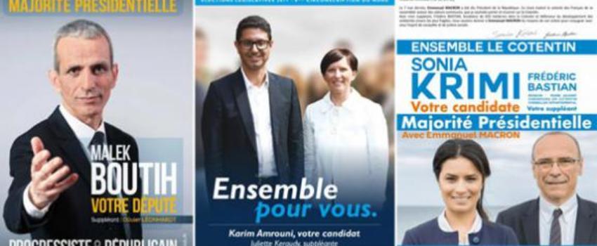 Législatives: cinq astuces pour s'approprier le soutien de Macron sans avoir eu l'investitureLREM