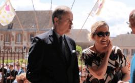 Le duc et la duchesse de Vendôme ont assisté à la clôture du pèlerinage de Chartres