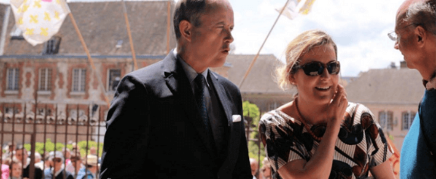 Le duc et la duchesse de Vendôme ont assisté àla clôture du pèlerinage de Chartres