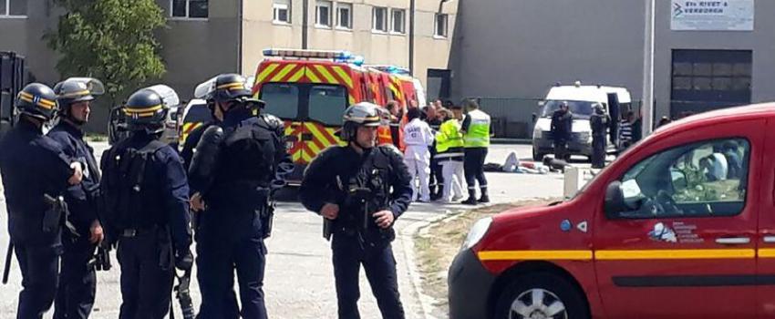 Seize blessés après une bagarre entre migrants àCalais