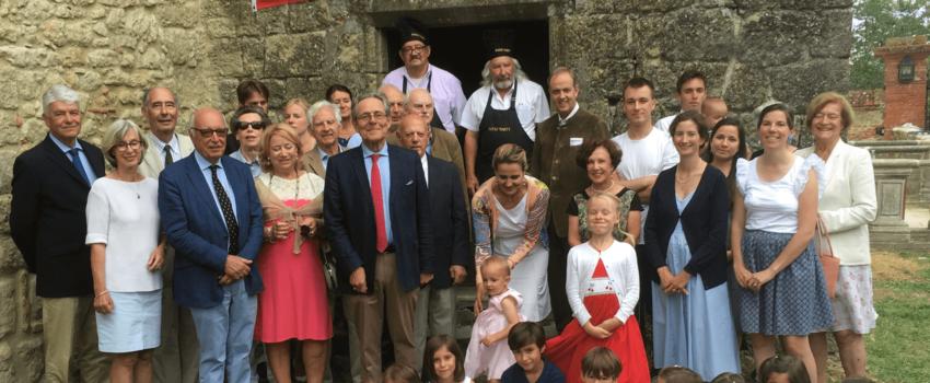 La Famille de France en visite dans la Région toulousaine