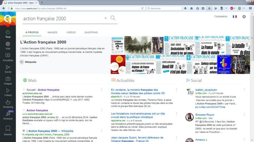 Qwant: Astérix contre Google