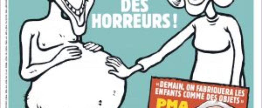 Charlie Hebdo contre laPMA