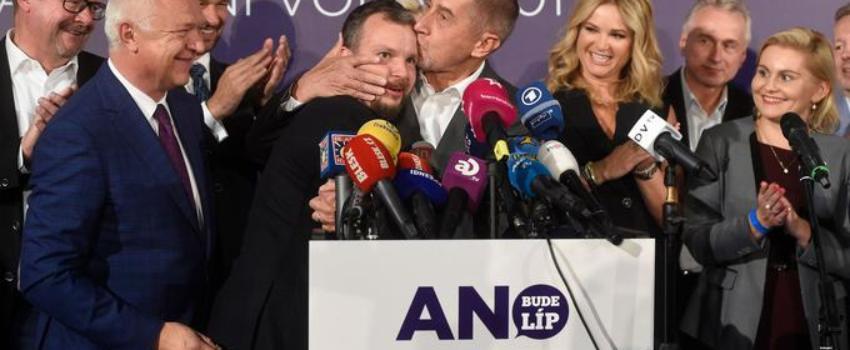 En République tchèque, le succès tonitruant des partis populistes