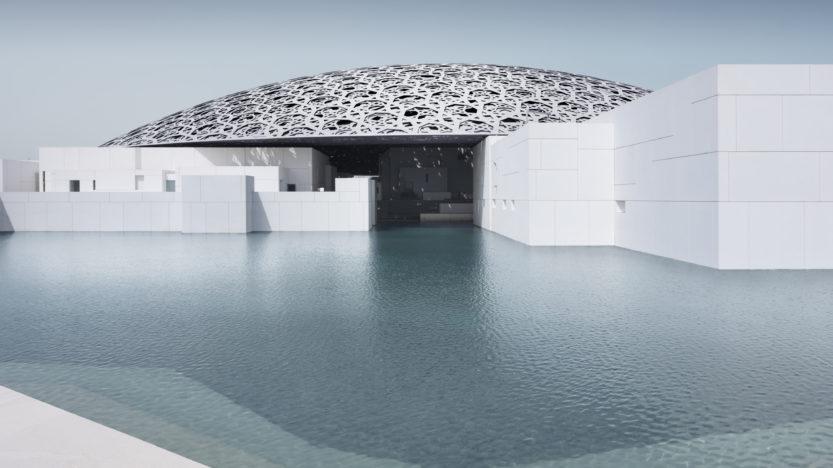Le Louvre ensablé aux Émirats