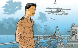 Honoré d'Estienne d'Orves en bande dessinée