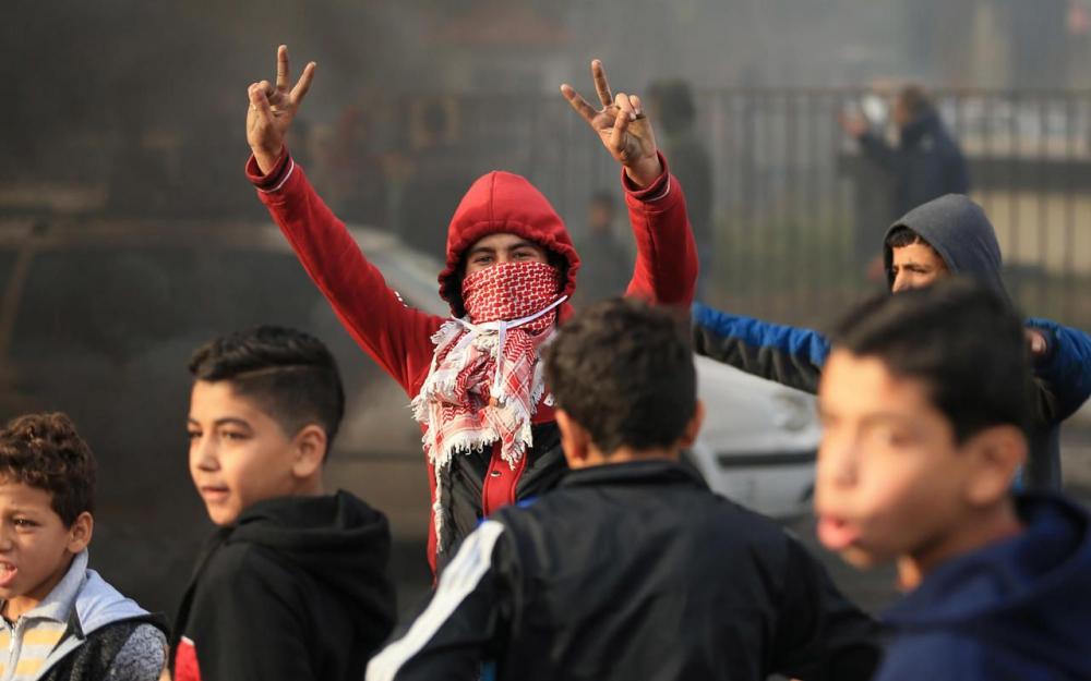 intifada des palestiniens contre israêl en décembre 2017
