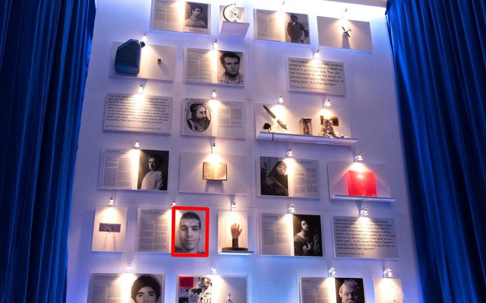 musée à Berlin sur lres martyrs et rerroriste islamiste
