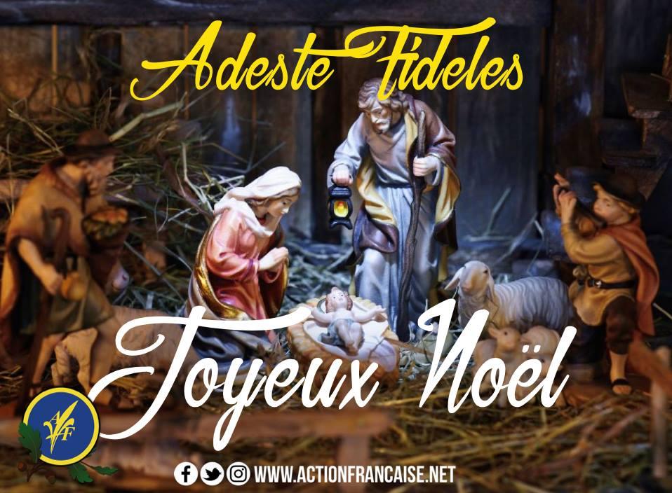 Voeux de l'Action française Noel 2017