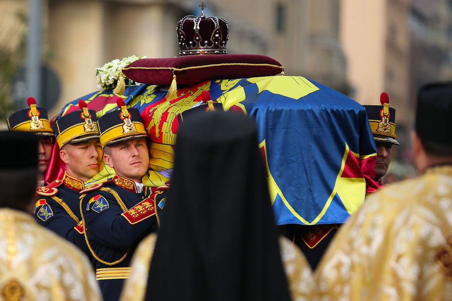 Obsèque du roi Michel en Roumanie