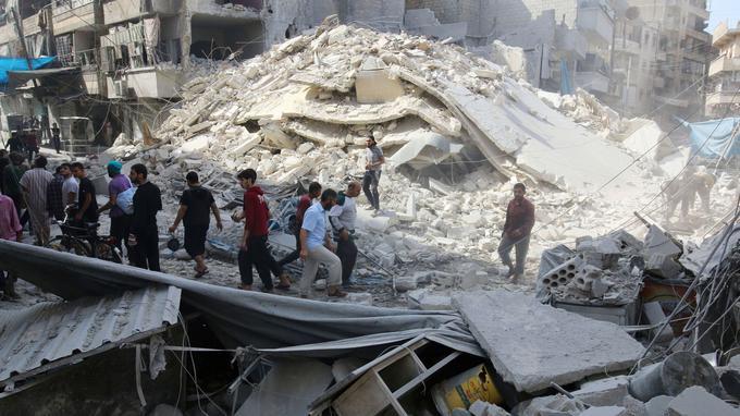 Entrtien de Frédéric Pichon sur les négociation de pais en Syrie