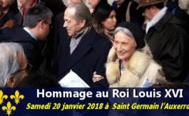 Mgr. le Comte de Paris rend hommage àLouis XVI dans la paroisse des Rois de France