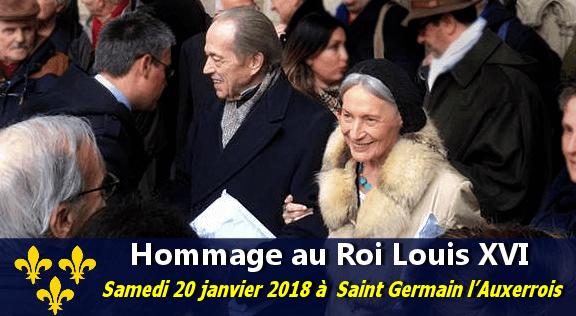 Le Comte de Paris rend hommage à Louis XVI