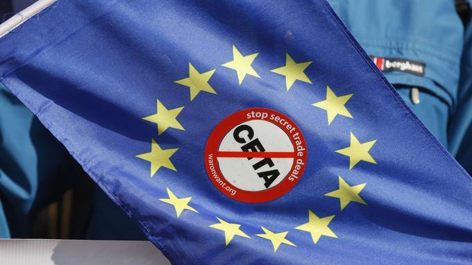 Contrev le CETA et pour l'europe des nations
