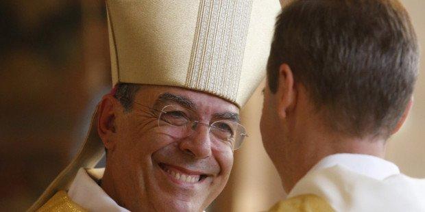 Mgr Apetit archevêque de Paris
