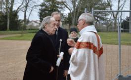 Les obsèques du prince François de France àla chapelle royale deDreux