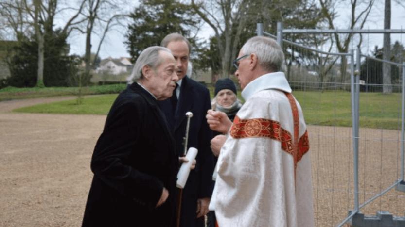 Les obsèques du prince François de France à la chapelle royale de Dreux