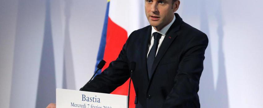Macron en Corse: un jacobin au service de Bruxelles