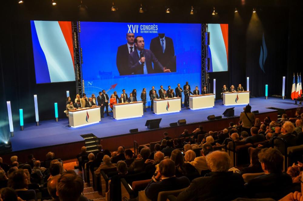 16e congrès du Front national le 11 mars 2018