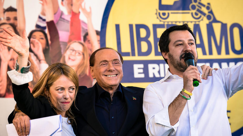 Camouflet italien àl'oligarchie
