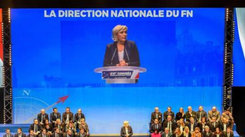 Marine Le Pen propose que le FN devienne le «Rassemblement national»