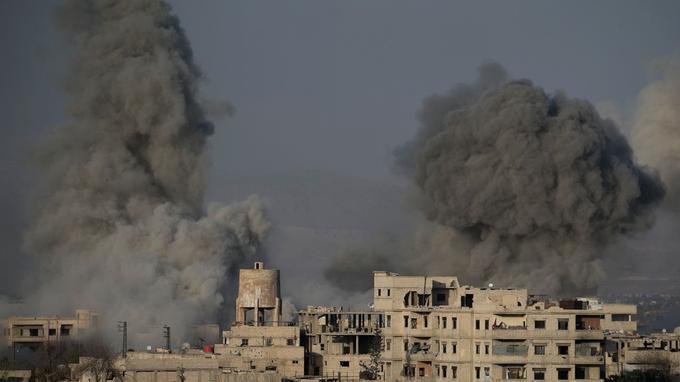 La Syrie conquiert la Ghouta