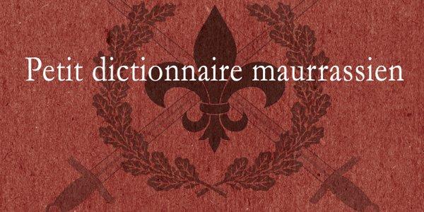 Le petit dictionnaire par Stéphane Blanchonnet