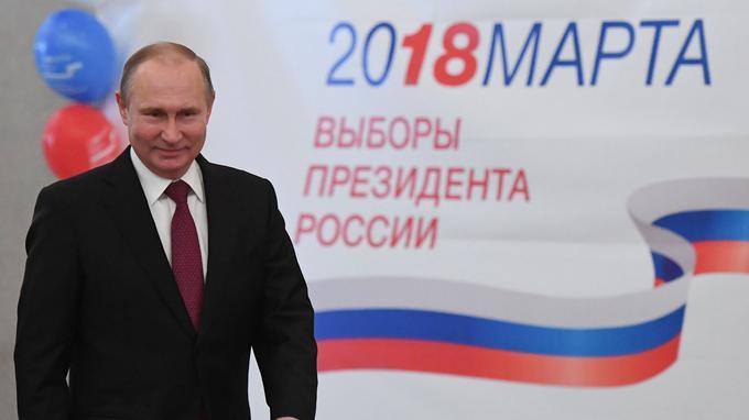 Vladimir Poutine gagne les elections presidentielles en russie