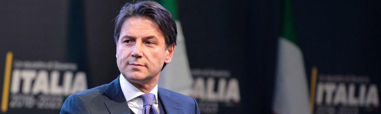 Guiseppe Conte, nouveau président du Conseil des ministres italien