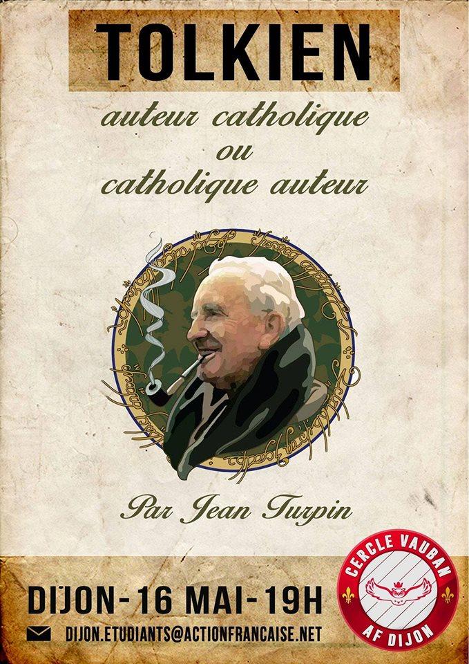 L'AF Dijon vous invite à son cercle sur Tolkien le 160518