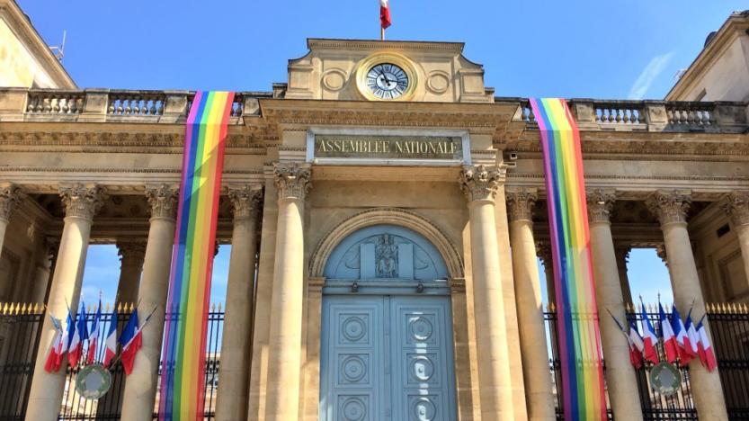 Marche des fiertés LGBT: L'Assemblée nationale aux couleurs du drapeau arc-en-ciel ce week-end