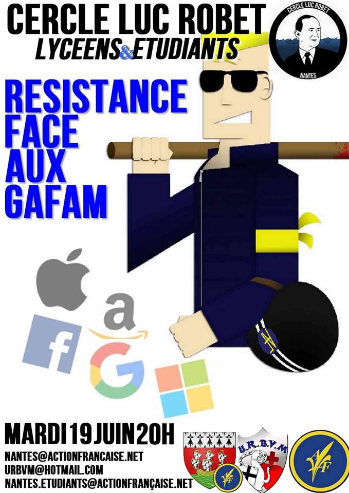 L'AF Nantes vous invite à son cercle sur le militantisme et les GAFA