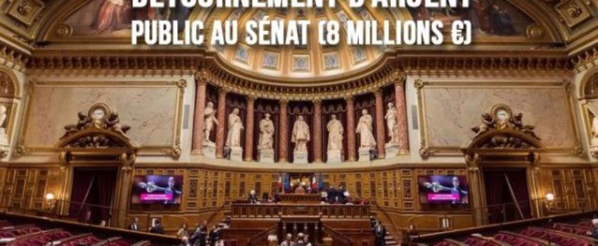 117 sénateurs sont soupçonnés d'avoir détourné 8millions d'euros