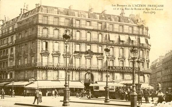 Siège de l'AF à Paris