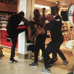 Violence entre deux chanteurs rap