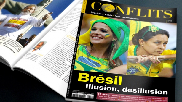 Nouveau numéro de Conflits sur le Brésil