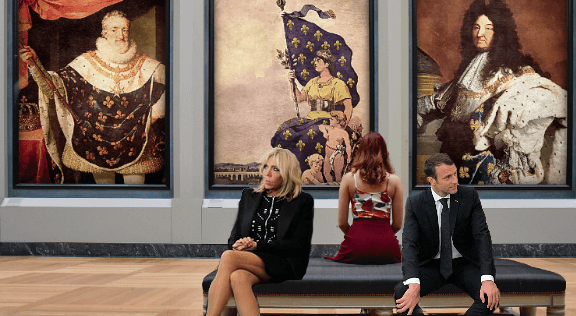 A la place de Macron faux monarque il faut un roi