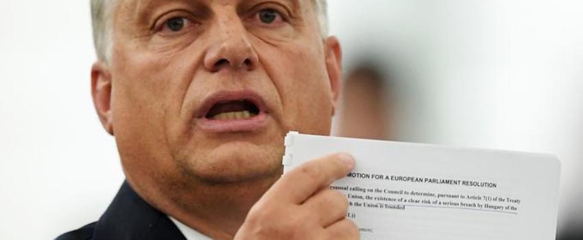 Julien Aubert: «Les sanctions contre la Hongrie ne peuvent conduire qu'à la fragmentation de l'Europe»