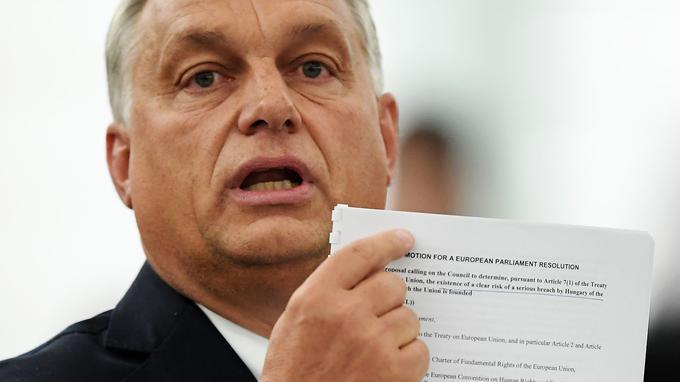 L'UE sanctionne la Hongrie