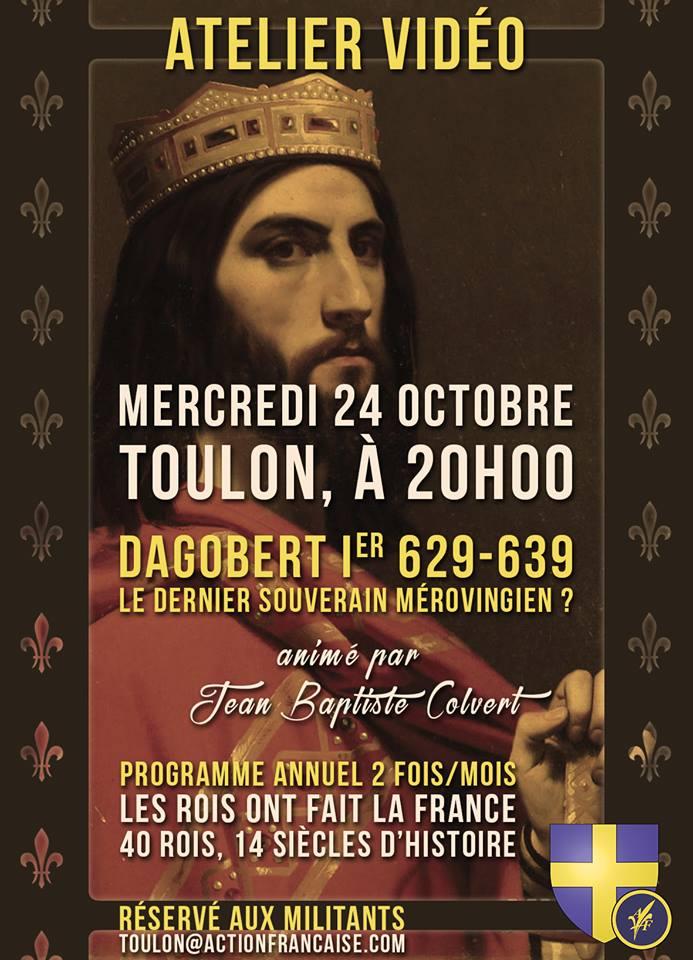 L'AF Toulon vous invite à son atelier vidéo le 241018