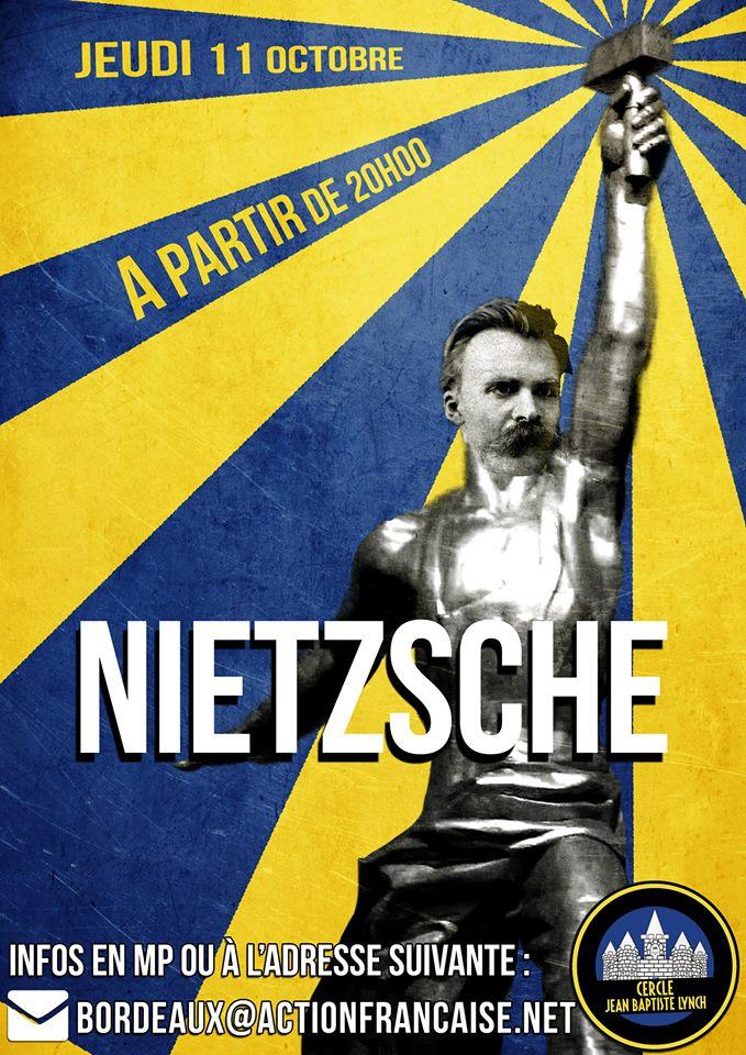 L'AF Bordeaux vous invite à leur cercle sur Nietzsche le 111018