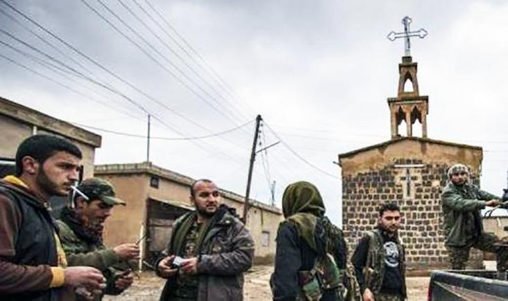 Répréssion kurde contre les chrétiens en Dyrie
