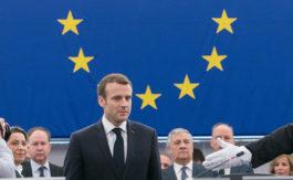 Macron, le poids plume de l'Europe